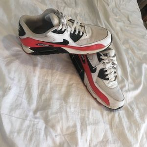 Nike Red air max size 11